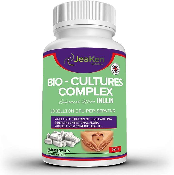 Probiotici con prebiotici jeaken B07B8GYMYP