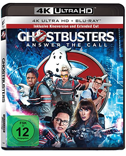 Ghostbusters - Answer The Call (4K Ultra HD) (+ Blu-ray 2D)