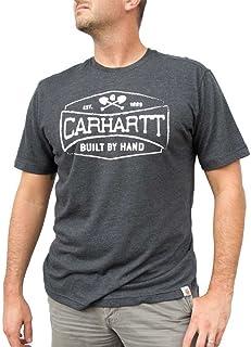 ddde53406ac5 Carhartt Men s 102979 Maddock Graphic Handmade Short Sleeve T-Shirt