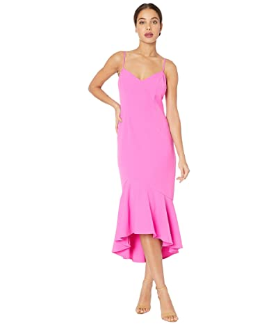 Bardot Lisandra Midi Dress (Fuchsia) Women