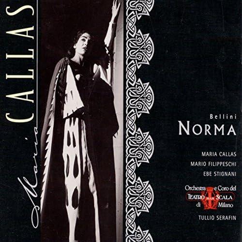 Maria Callas, Mario Filippeschi, Rina Cavallari, Nicola Rossi-Lemeni, Ebe Stignani, Vincenzo Bellini & Paolo Caroli