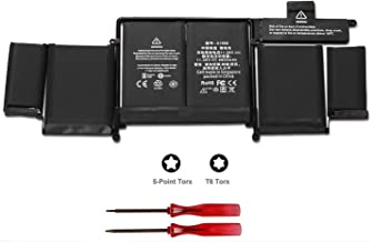 """POWERWOO New Laptop Battery A1582 for 2015 MacBook Pro 13"""" ME864 ME865; A1493(2013 2014 Version) Battery for A1502 with 2 ..."""