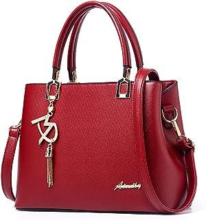 Fanspack Shoulder Bag Creative Cute Tote Handle Bag Purse Large Capacity Zipper Handbag
