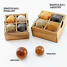 ROCKS MOTION・シャッフルボール(ラージ)ボールを指先、手で回して脳トレ!プレゼント、ギフトに最適な名入れ刻印もサービス中 (ラージ)