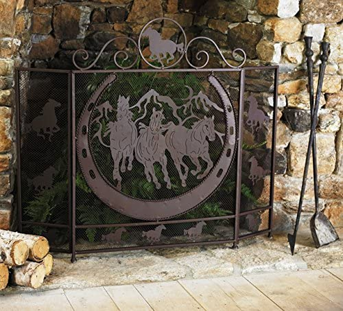 BLACK FOREST DECOR Ranking TOP15 Running Fireplace Screen Horses Challenge the lowest price of Japan ☆