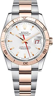 Rolex Datejust 36 Thunderbird Everose Gold and Oystersteel Men's Watch Ref. 116261