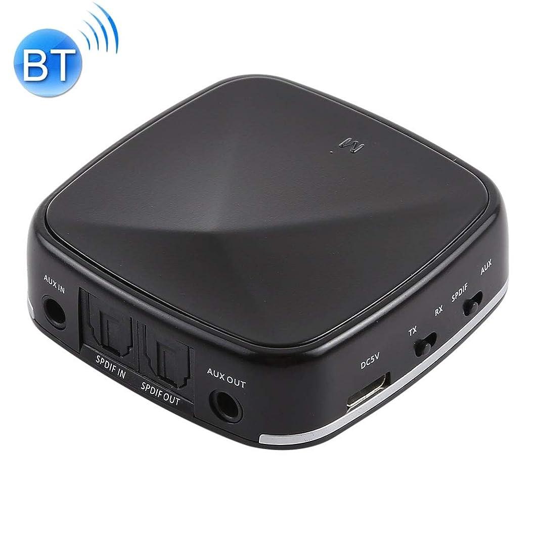 模倣カート気楽なWTYD コンピュータアクセサリー JRBC03 2 in 1 Toslink/SPDIF光Bluetoothオーディオレシーバトランスミッタアダプタ コンピュータに使われる (Color : Black)