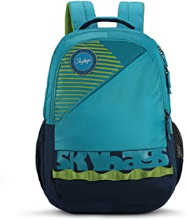 Skybags Bingo Extra 35.5005 Ltrs Blue School Backpack (SBBIE03BLU)