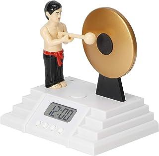 Blantye LCD digital alarmklocka spela gongs interaktion skrivbord bord klocka heminredning