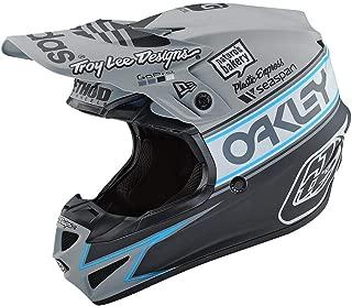 Troy Lee Designs SE4 Polyacrylite Team Edition 2 Off-Road Motocross Helmet (Gray,  X-Large)