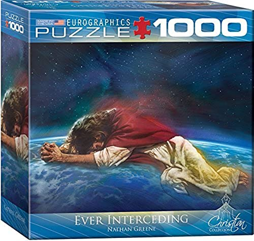 EuroGraphics Ever Interceding Puzzle (Small Box) (1000-Piece) by EuroGraphics