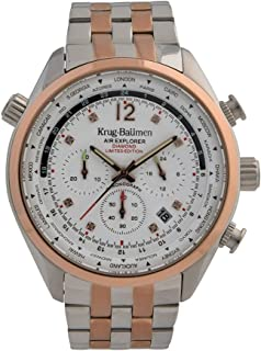 Krug-Baumen 100111DM Mens Air Explorer Diamond Limited Edition Watch