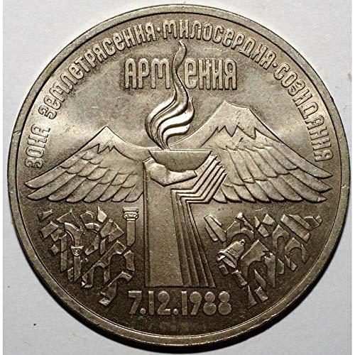 1989 RU 3 Rubles Russian 1989 31mm Very Fine