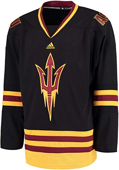 adidas Arizona State Sun Devils NCAA Men's White Adizero Climalite Hockey Jersey
