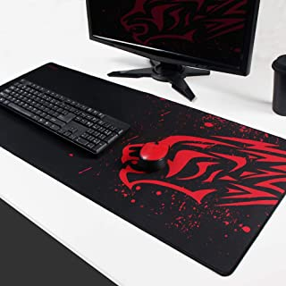 EXCOVIP Extended Large Gaming Mouse Pad XXL (900 x 400mm) Thick Non-Slip Rubber Base Mouse pad Mice Smooth Cloth Surface K...