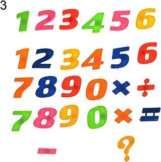 GlobalDeal 26Pcs Lower/Upper Case Alphabet Letters Number Fridge Magnet Kid Learning Toy - Numbers