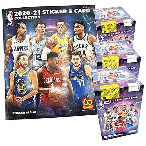 Panini NBA 2020/21 Sticker & Trading Cards – Champions-Bundle