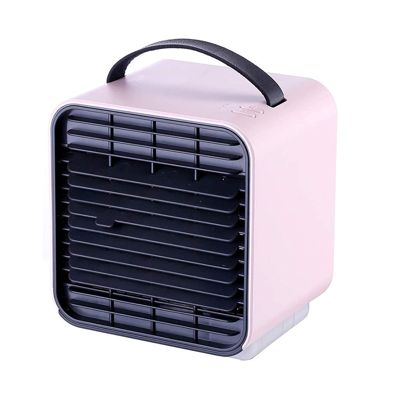 Personal Space Cooler Air Conditioner Fan, Air Personal Space Cooler Small Desktop Fan Quiet Personal Table Fan Mini Evaporative Air Circulator Cooler Humidifier Bladeless Quiet for Office, Dorm