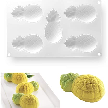 Angwang Silicone Mold,3D Easter Egg Baking Mold Silicone Mousse Cake Epoxy Resin Casting Pendant Molds 2#