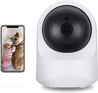SecuPlug Baby Monitor,Pet camera,Home Security Camera,1080P HD Wireless WiFi Camera for Pet/Nanny, Free Motion Alerts, 2 W...