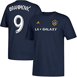 Zlatan Ibrahimovic LA Galaxy Men's Navy Player Name and Number T-Shirt