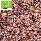 12,90€ (12,90€ pro 1kg) 1000g Bio Sultaninen (Sultanas) getrocknet | 1 kg | ungeschwefelt | ohne Zuckerzusätze | Trockenfrüchte 100% Naturprodukt | kompostierbare Verpackung | DE-ÖKO-070 - STAYUNG