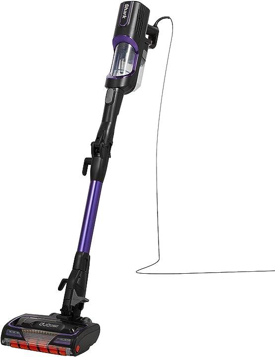 Scopa elettrica shark anti hair wrap con filo e con flexology (hz500eu) viola HZ500EU