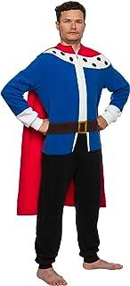 Funziez! King Costume Pajamas - Adult One Piece Cosplay Medieval Prince