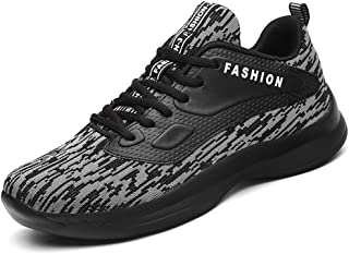 TERIAU Men's Sneakers Ultra Llight Breathable Casual Fashion Athletic Shoes