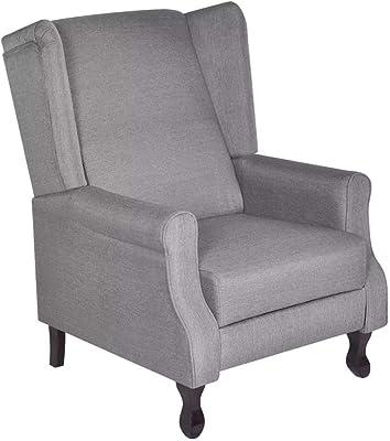 Muebles Baratos Sillon orejero Butaca sillón tapizado en ...