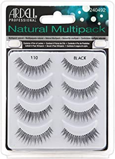 Ardell Natural Multipack Lashes - 110 Black 4 Pack