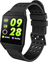Bluetooth Smart Watch Heart Rate Monitor Fitness Tracker IP67 Waterproof Reminder Tacking Sports Pedometer Activity Tracke...