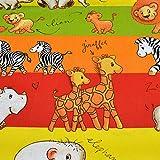 MAGAM-Stoffe Safari Kids Baumwollstoff bunt Oeko-Tex