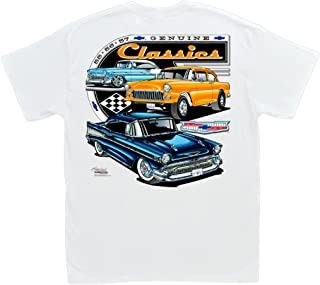 Hot Shirts Chevrolet Genuine Classics T-Shirt: 1955 1956 1957 Bel Air Gasser Chevy