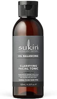 Sukin Oil Balancing Clarifying Facial Tonic, 125ml