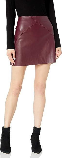 Eden Leather Skirt