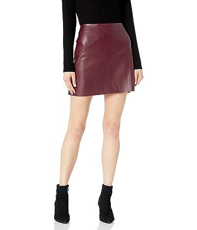 Mud Pie Eden Leather Skirt
