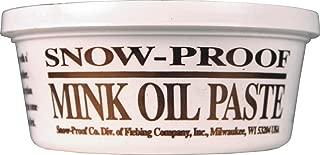 FIEBING Company 088-40038 699740 Snow Proof Mink Oil Paste, 8 oz