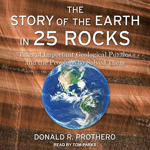 The Story of the Earth in 25 Rocks  By  cover art