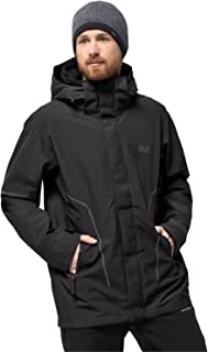 Jack Wolfskin Men's Taiga Trail M Waterproof Recycled Shell Jacket