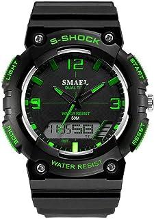 ファッションスポーツウォッチメンズ水レジスタンスクォーツWRSIT時計メンズ時計デジタルスポーツ