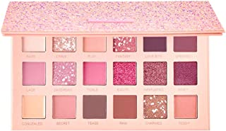 18 Colors Pigmented The New Nude Eyeshadow Palette Blendable Long Lasting Eye Shadow Palettes Neutrals Smoky Multi Reflective Shimmer Matte Glitter Pressed Pearls Eye Shadow Makeup palette Cosmetics
