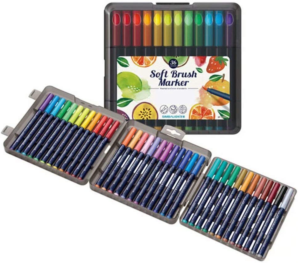 QCGZJCY Watercolour At the price of surprise Pencils Soft New mail order Tip Water Colouring Art Pens So