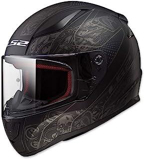 LS2 Helmets Full Face Rapid Street Helmet (Crypt – 2X-Large)
