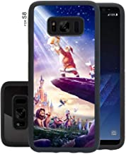 DISNEY COLLECTION Protective Case Cover Fit for Galaxy S8 (2017) [5.8 Version] Disneyland Paris El Rey Leon