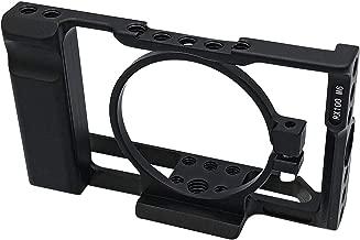 RX100M6 Camera Cage for Sony DSC-RX100 VI(M6) DSLR Camera Case Camera Rig Cold Shoe (RX100M6 Camera Cage)