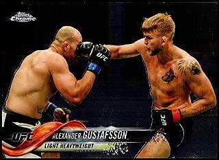 2018 Topps Chrome UFC #81 Alexander Gustafsson