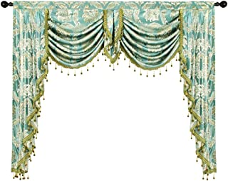 swags cascades and jabots window treatments