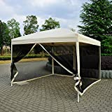 10'x10' Outdoor Pop Up Party Tent Patio Gazebo Canopy Mosquito Net...