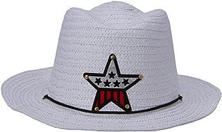 XueXian Kids Boy Girls Straw Sun Hat Beach Summer Hats